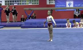 watch 8 year old laurie hernandez dance the cutest floor routine