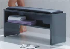 bad sitzbank badhocker badbank so sitzt heute im bad