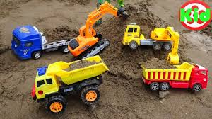 100 Dump Trucks Videos Learning Videos For Kids Toys And Games