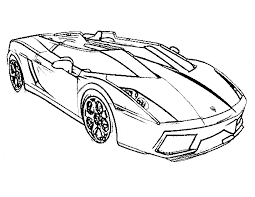 Cars Coloring Pages Printable Free Race Car For Kids Book