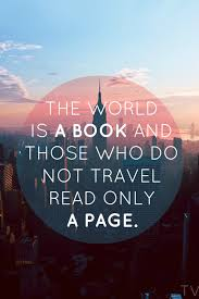 The World Is A Book And Those Who Do Not Travel Read Only Page