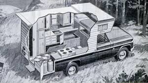 Pickup Truck Camper Cutaway, 1967 - Invisible Themepark