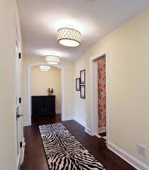 flush mount hallway lighting home lighting design