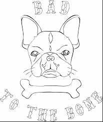 Astounding French Bulldog Coloring Pages With And Baby