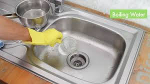 Home Remedies To Unclog A Kitchen Sink 3 ways to unclog a kitchen sink wikihow
