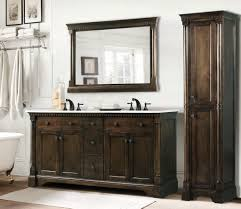bathroom antique bathroom vanity set with coffee finish tips