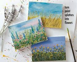 Painted Flower Gardens By Tammy Northrup So You Can Refer Back To This Step Lesson For Handmade Cards And Other Projects