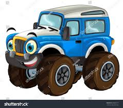 Cartoon Happy And Funny Off Road Car Looking Like Monster Truck ... Cartoon Monster Trucks Kids Truck Videos For Oddbods Furious Fuse Episode Giant Play Doh Stock Vector Art More Images Of 4x4 Dan Halloween Night Car Cartoons Available Eps10 Separated By Groups And Garbage Fire Racing Photo Free Trial Bigstock Driving Driver Children Dinosaur Haunted House Home Facebook Royalty Image Getty