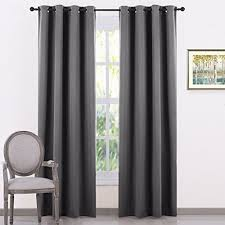 curtains for living room amazon co uk