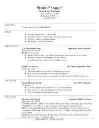 Employment Resume Examples Good How To List Self On With Additional