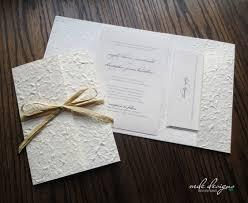 DIY Mulberry Pocketfold Wedding Invitation Kit