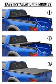 100 F150 Truck Cover 201519 Styleside 55 Bed Soft Roll Up Tonneau