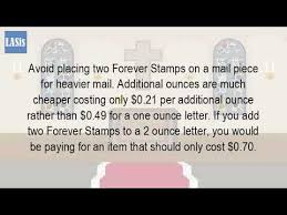 How Many Stamps Does A Standard Letter Need