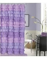 alert purple shower curtains deals