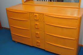 Heywood Wakefield Dresser Styles by Heywood Wakefield M529 Triple Encore Dresser Furniture
