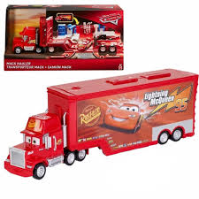 Disney Pixar Cars Mack Hauler Disney Pixar Cars Mack Truck Carrier Hauler 18 Storage Carrying Mack Truck In Trouble With Train Cars For Kids Disneypixar Playset Walmartcom 3 Big 24 Diecasts Tomica Lightning Mcqueen Tomica Rescuego Takara Tomy Disneypixcars Amazoncom Large Scale Toys Blackgold Scale Memorial Cecil Spurlocks Son And Familys Trailer Jada Diecast 124 Cstruction Videos For Mcqueen Garage