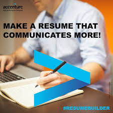 Accenture Resume Builder Login