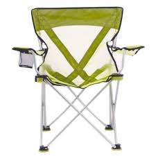 100 Folding Chair With Carrying Case Travel With Teddy Steel Lime Green