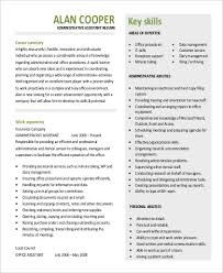Sample Administrative Assistant Professional Summary For Resume