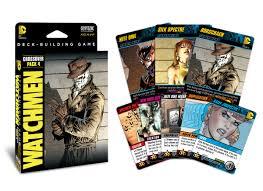 dc comics deck building game crossover pack 4 watchmen