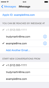 If you don t want to use iMessage with your iPhone telephone number tap Settings Messages and turn iMessage off