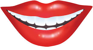 Free Red Smile Clipart