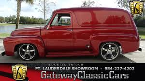 163-FTL 1955 Ford Panel Van - YouTube