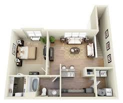 1 Bedroom Efficiency Apartments Innovative Art