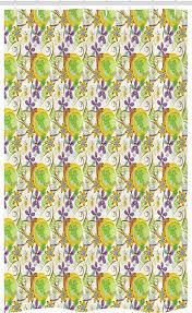 abakuhaus duschvorhang badezimmer deko set aus stoff mit haken breite 120 cm höhe 180 cm abstrakt doodle strudel kaufen otto
