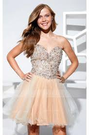 soft champagne prom dresses u0026 gowns color trend sherry