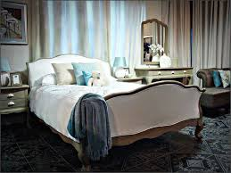 Louis Bella Bed Upholstered In White Cashmere From Manhattan Interiors