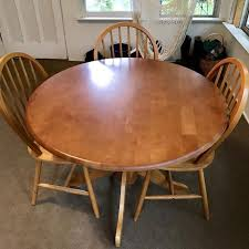 IKEA Dining Table And 3 Chairs