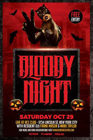 Free Halloween Flyer Templates by Xtremeflyers Halloween Flyer Templates