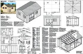 12x16 Gambrel Storage Shed Plans Free by Garden Shed Plans 12x16 Free With Dormer Roof Right 9441