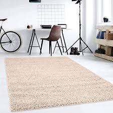 hochflor teppich shaggy teppich fürs wohnzimmer modern