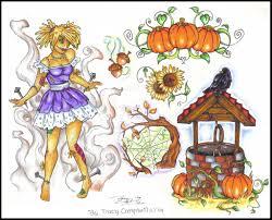Fat Rams Pumpkin Tattoo by Halloween Flash Art By Supersibataru D2bl7o2 Jpg 1024 826