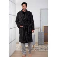 robe de chambre velours robe de chambre homme de velours hiver massana avec zipper