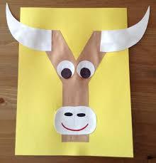 y is for yak craft via erin denney
