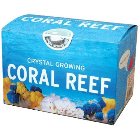 Do It Yourself Crystal Growing Coral Reef Science Kit