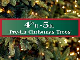 5ft Pre Lit Christmas Tree Sale by Pre Lit Artificial Christmas Trees Long Island Ny Queens 75