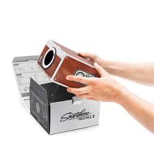 Mini Cardboard Smartphone Projector DIY Mobile Phone Projector