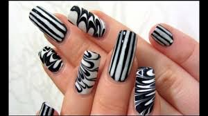 Nail Art In Black And White ||Easy Nail Designs Ideas | Easy Nail ... Dashing Easy Nail Designs Along With Beginners Lushzone And To 60 Most Beautiful Spring Art How To Do A Lightning Bolt Design With Tape Howcast All You Can It At Home Pictures Do Nail Art Toothpick How You Can It At Home Best 25 Ideas On Pinterest Designs 781 Ideas Blue Flower Style Design Trendy Modscom Youtube 10 For The Ultimate Guide 4 Designing Nails Luxury Idea Easynail
