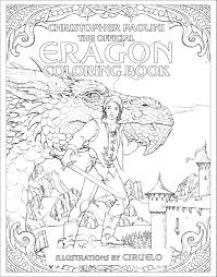 Color In The Official Eragon Coloring Book Cover And Win Your Own