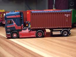 100 20 Ft Truck Tekno Scania SA Heylen Mit Ft Container MODELS 150