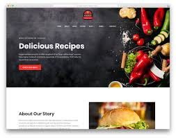 100 Food Truck Websites 18 Best Free Restaurant Website Template 2019 Colorlib