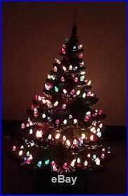 Vintage Atlantic Mold Ceramic Christmas Tree by Atlantic Mold 25 U0027 4 Piece Ceramic Christmas Tree Leaning Tree Of Xmas