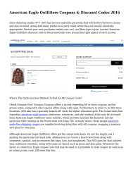 American Eagle Outfitters Coupons & Discount Codes 2016 ... How To Use American Eagle Coupons Coupon Codes Sales American Eagle Outfitters Blue Slim Fit Faded Casual Shirt Online Shopping American Eagle Rocky Boot Coupon Pinned August 30th Extra 50 Off At Latest September2019 Get Off Outfitters Promo Deals 25 Neon Rainbow Sign Indian Code Coupon Bldwn Top 2019 Promocodewatch Details About 20 Off Aerie Code Ex 93019 Ae Jeans