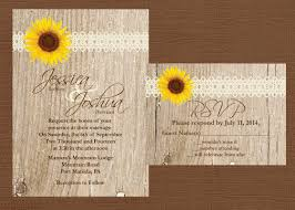 Sunflower Wedding Invitations And Get Inspired To Create Your Invitation With Smart Design 1