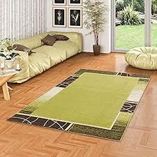 softstar designer teppich grün trend in 4 größen