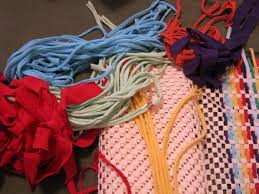 available on etsy diy rug kit make this non skid tshirt yarn rug